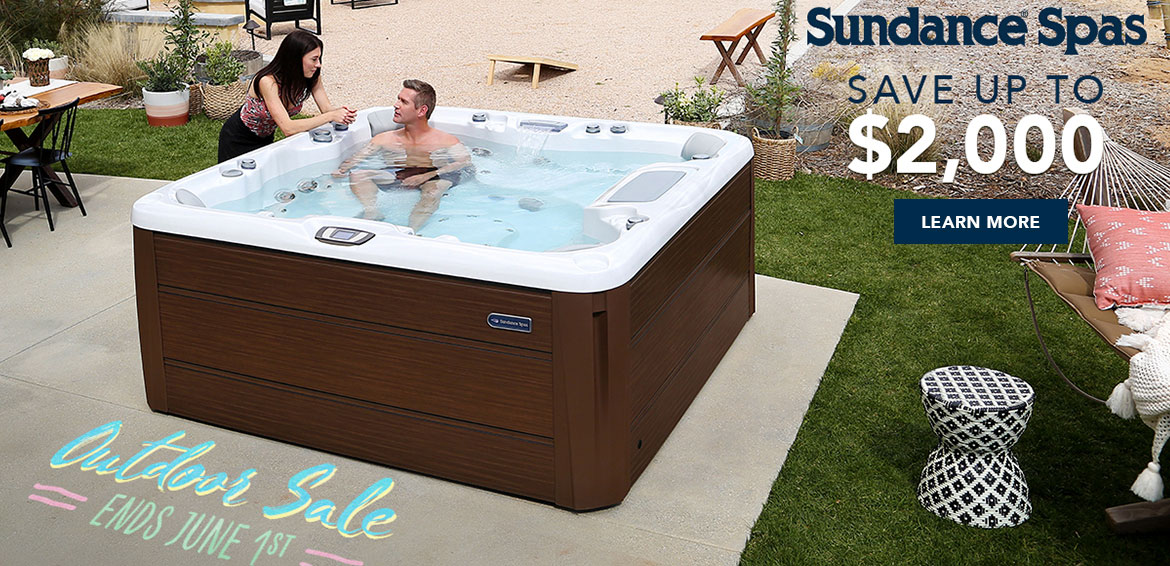 Save Up to $2,000 on Sundance Spas from A1 Pools in Wisconsin