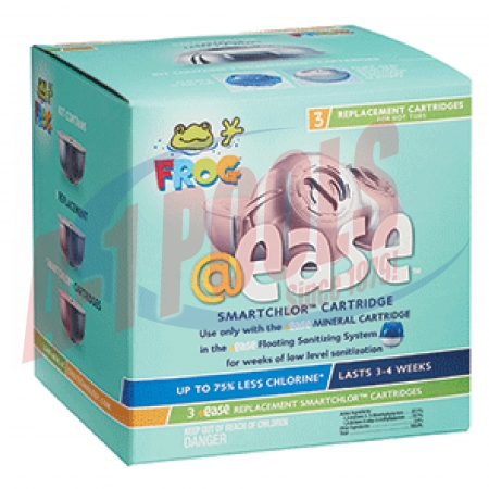 01-14-3258 King Technology @Ease Floating Replacement SmartChlor Cartridge 3-Pac