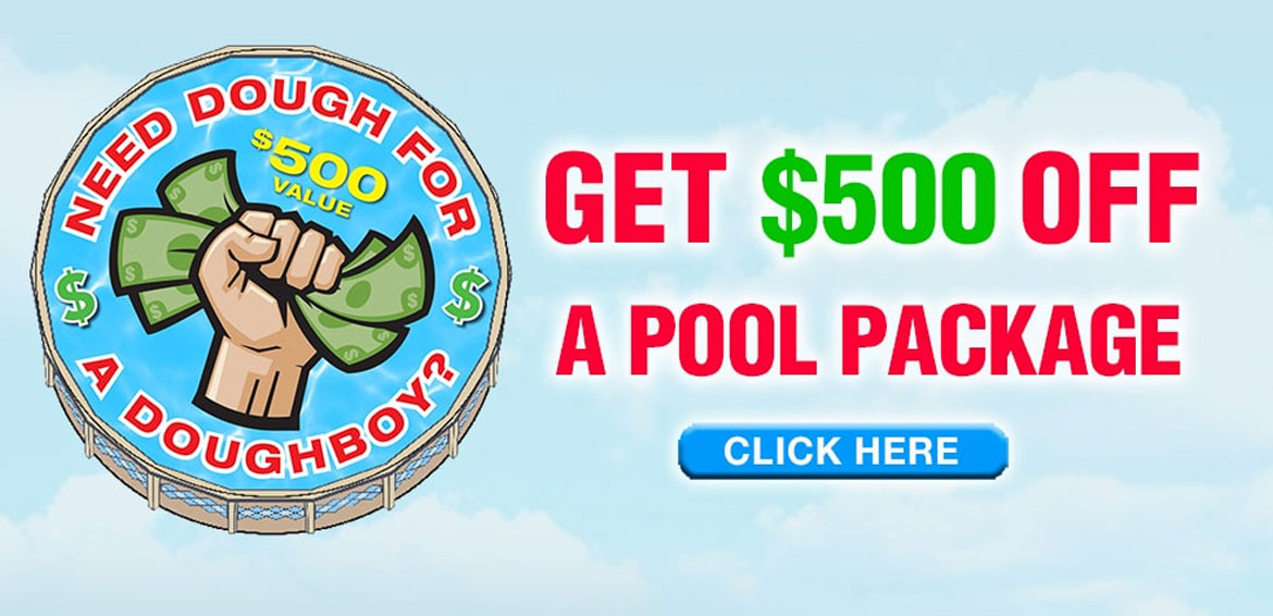 Doughboy Pool Sale from A1 Pools in Wisconsin