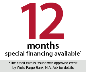 12 Months of Special Financing Available on Pools and Spas