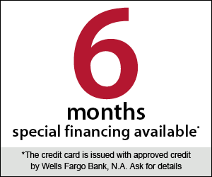 6 Months of Special Financing Available on Pools and Spas