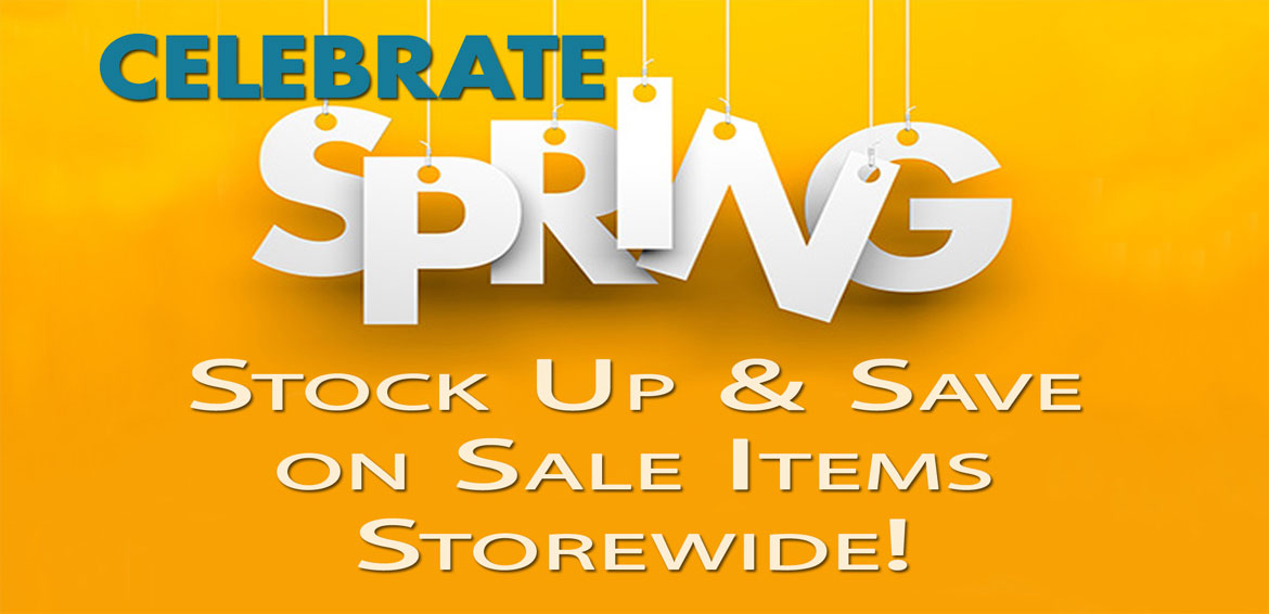 Spring Sale - Stock Up and Save from A1 Pools in Wisconsin