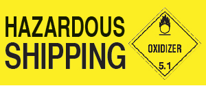 hazard shipping icon