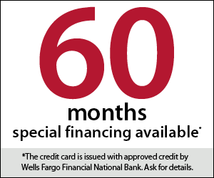 60 Months of Special Financing Available on Pools and Spas