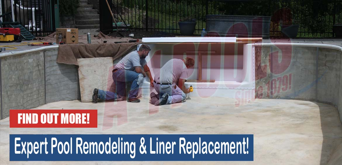 Pool Remodeling and Liner Replacement from A1 Pools in Wisconsin
